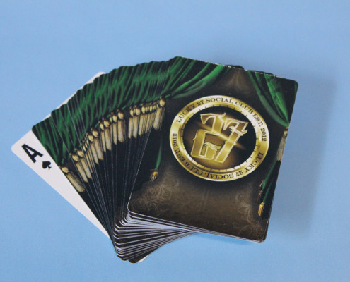 Lucky 27 Poker Cards