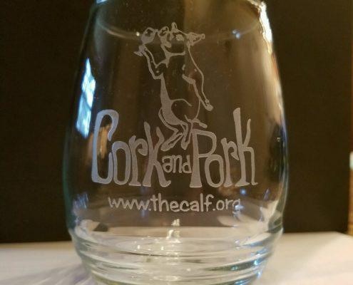 Cork and Pork Glass