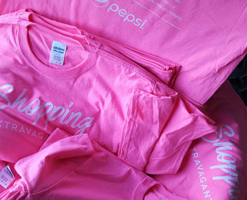 Pink Shopping Shirt