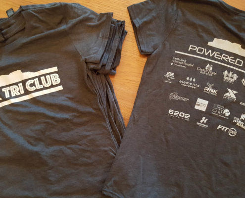 Rock Tri Club Shirts